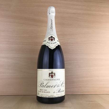 Magnum (1,5L) Champagne blanc Palmer millésimé 1985 (dégorgement en 1994)