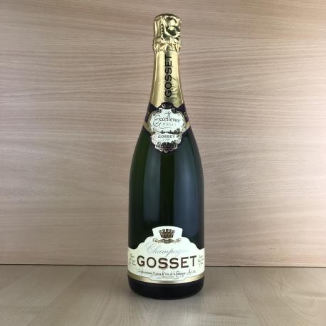 Champagne blanc Gosset Brut excellence