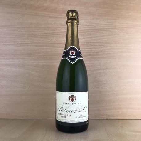 Champagne Brut Palmer millésimé 2004