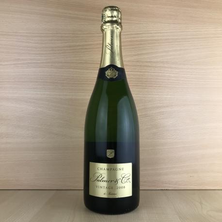 Champagne Brut Palmer millésimé 2008