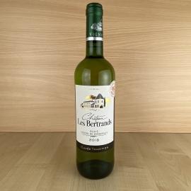 """AOC Blaye Côtes de Bordeaux blanc Château les Bertrands """"Cuvée Tradition"""" 2018"""