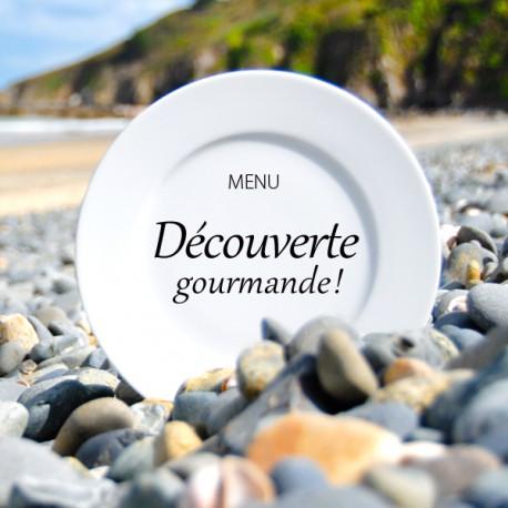 """MENU """"DÉCOUVERTE GOURMANDE"""""""