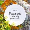 """MENU """"DÉCOUVERTE TRÈS, TRÈS GOURMANDE"""""""