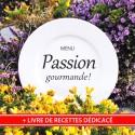 """Menu """"Passion Gourmande"""" & Livre de Recettes de Nathalie"""