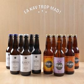 Coffret Breizh Bières - 12 bières lorientaises artisanales à déguster !