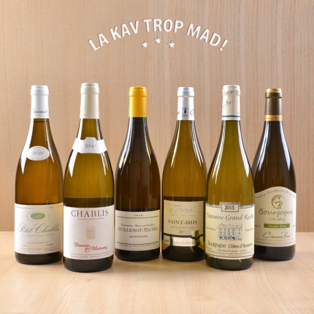 Coffret Bourgogne en Fête - Une jolie promenade autour de Chablis et Mâcon !