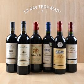 Coffret Bordeaux Découverte 2005 & 2010 - Un flori-liège de saveurs ! 100 % BIO