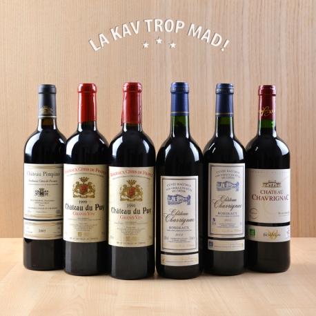 Coffret Bordeaux Épopée Millésime - Une aventure à travers les temps dans le Bordelais ! 100% BIO