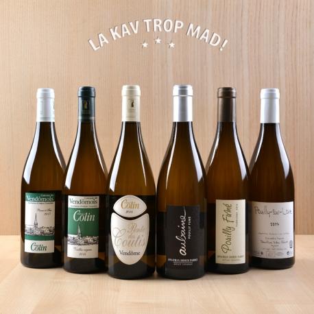 Coffret Pouilly & Vendôme - A la découverte de vins blancs biologiques en AOP ! 100% BIO