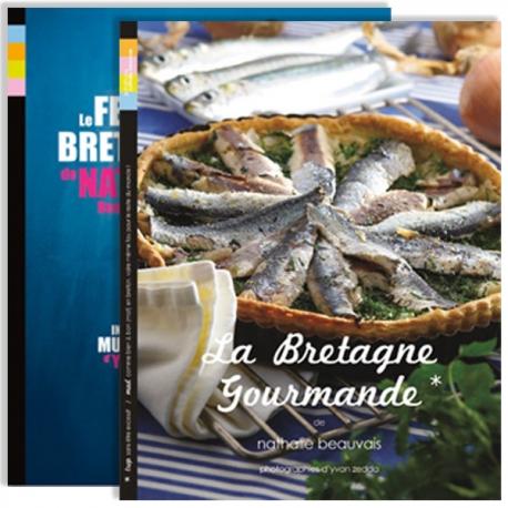 COLLECTOR ! La Bretagne Gourmande & Le Festin Breton LIVRAISON à 0.01 €