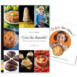 Vive les Desserts + Je fais des crêpes OFFERT !