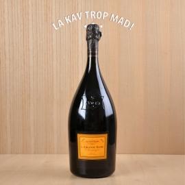 Coffret Magnum (1,5L) Veuve Clicquot Ponsardin : Grande Dame 1990 - Champagne Blanc Effervescent