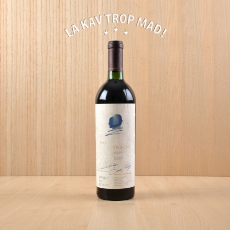 Opus One 1990 - Vin Rouge de Californie